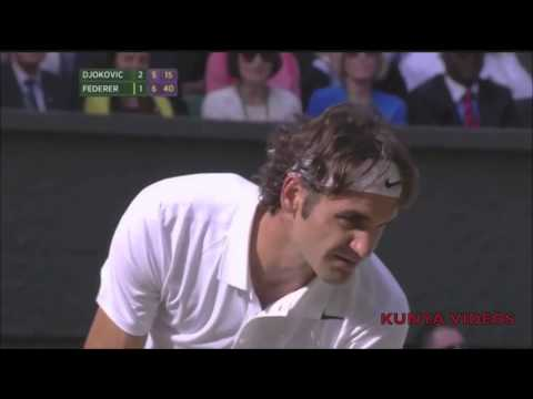 Roger Federer - Inspired (2014 Wimbledon Epic with Novak Djokovic) Motivational Comeback Tribute