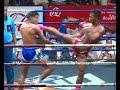 Muay Thai Fight-Petdam vs Lerthavi (เพชรดำ vs เลิศทวี), Rajadamnern Stadium - 09.3.16