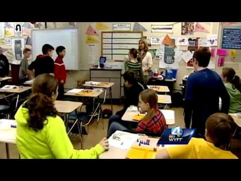 Golden Apple Winner: Penny Mellett, Pickens Middle School