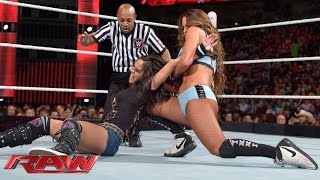AJ Lee vs. Nikki Bella: Raw, March 16, 2015