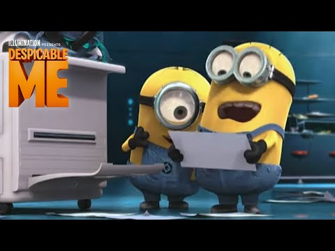 Despicable Me - Bluray DVD out 12/14 - Bonus: Minion Voices