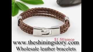 How to buy wholesale leather bracelets cheap online