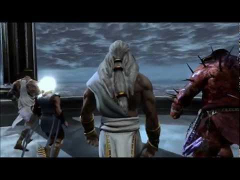 God of War 3 Epic Gameplay ( Kratos vs Poseidon full fight ) FULL HD