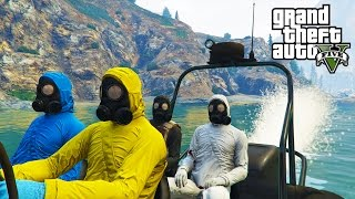 GTA V - Random Moments 35 (Glitchy Crew, Animal Cruelty)