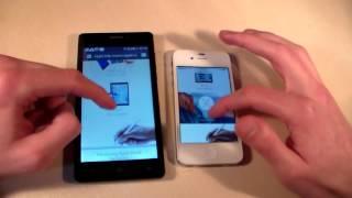 Сравнение Prestigio Wize D3 vs iPhone 4S (HD)
