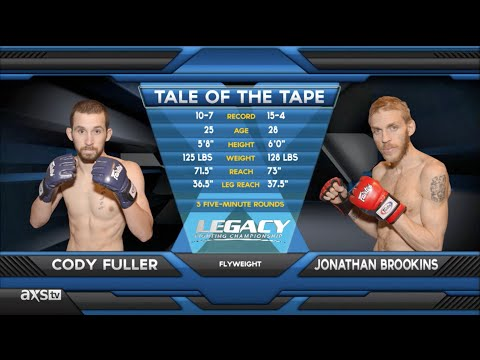 Jonathan Brookins Makes His Return to MMA at Legacy 29  Fight of the Week