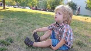 3 year old talking