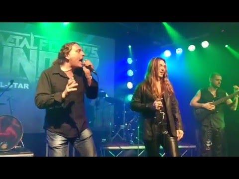ANGRA - Rebirth. Edu Falaschi & Fabio Lione - vocals
