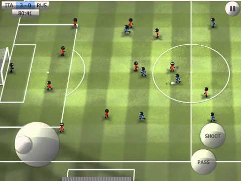 Stickman Soccer - Italy 4 / Russia 0