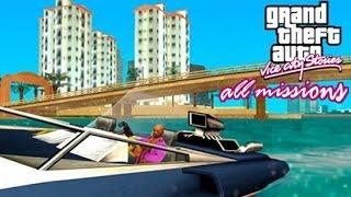 GTA Vice City Stories - All Missions Marathon Walkthrough (PS2)
