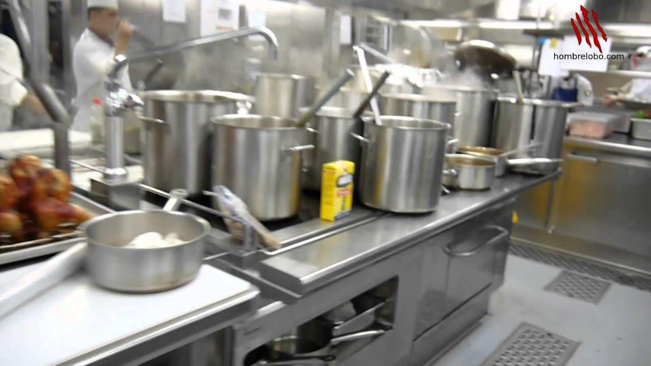 La cocina del crucero por dentro o c mo funciona un - Cocinas el barco granada ...