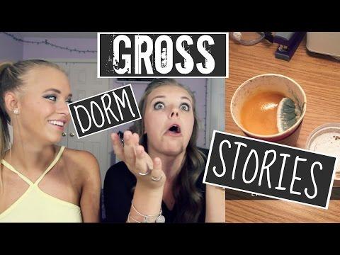 GROSS COLLEGE DORM ROOM STORIES || PT. 2