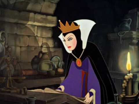 Snow white the jealous queen becomes an evil witch youtube