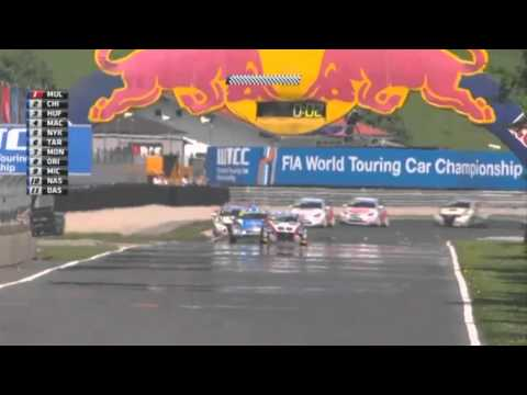 WTCC weirdest quali ever, Salzburgring 2013, and explanation of slipstreaming