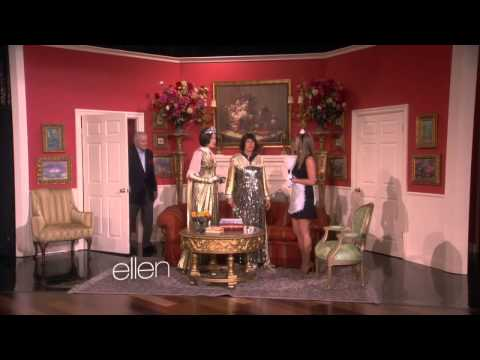 Jennifer Aniston and Portia de Rossi// Soap Opera Scene