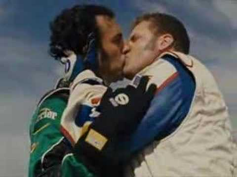 Taledega Nights The Ballad Of Ricky Bobby-Kissing Scene