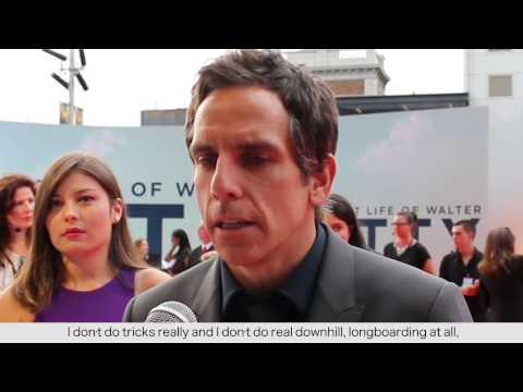 Ben Stiller Talks Skateboarding At The Secret Life Of Walter Mitty Australian Premiere!