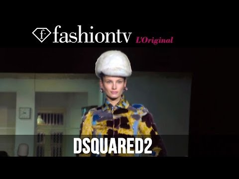 Samantha Gradoville, Malaika Firth at Dsquared2 Fall/Winter 2014-15 | Milan Fashion Week | FashionTV