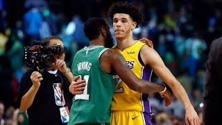Kyrie Irving impressed by Lonzo Ball   ESPN