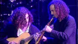 Kenny G with his son, Max G