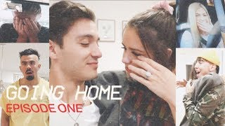 SURPRISING OUR FRIENDS WITH THE NEWS!! (Going Home - Episode One)