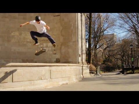 Central Park Skateboarding