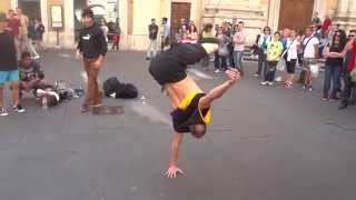 Hip Hop Dance - Acrobatic Street Music Dancing