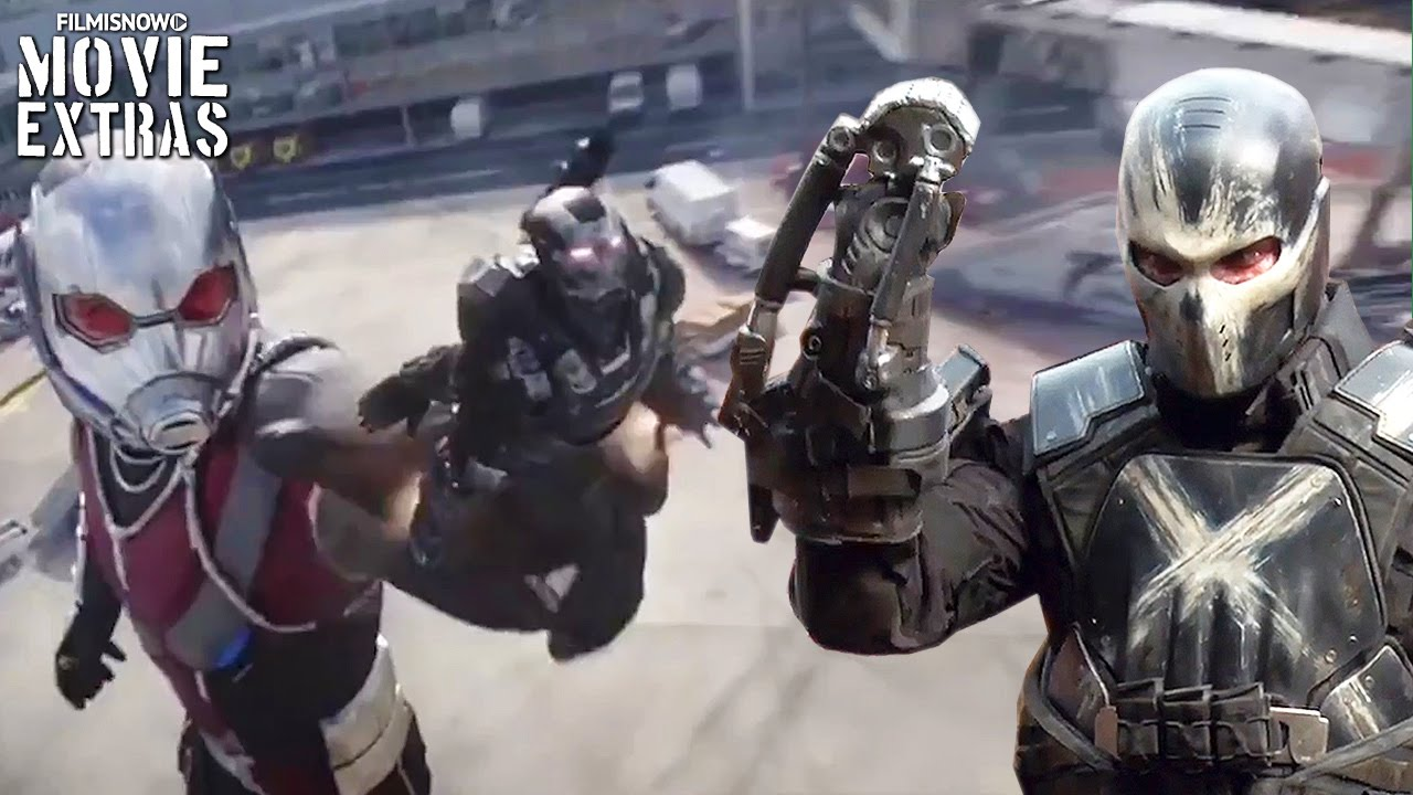 Captain America: Civil War 'Giant-Man & Crossbones' Featurette [Blu-Ray/DVD 2016]