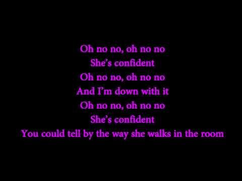 Justin Bieber - Confident Ft. Chance The Rapper (lyrics On Screen) video