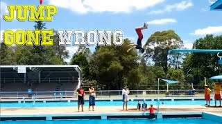 JUMP INTO WATER GONE WRONG fails pt.2 [FailForceOne]