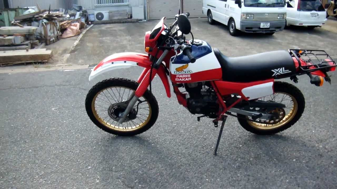 honda xl125r paris dakar ������ youtube