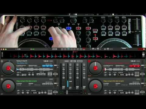 Numark N4: Virtual DJ