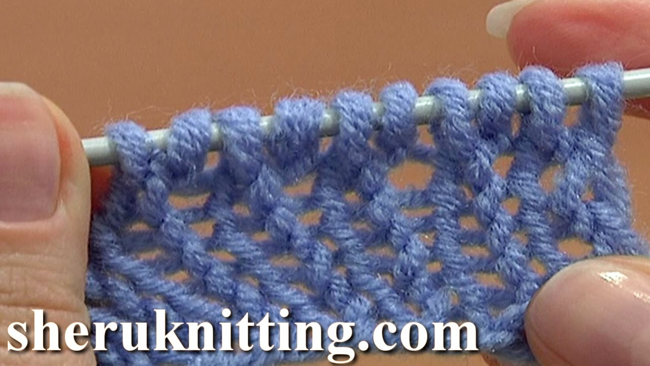 Knitting Casting On Tutorial : How to knit cast on increase tutorial method of