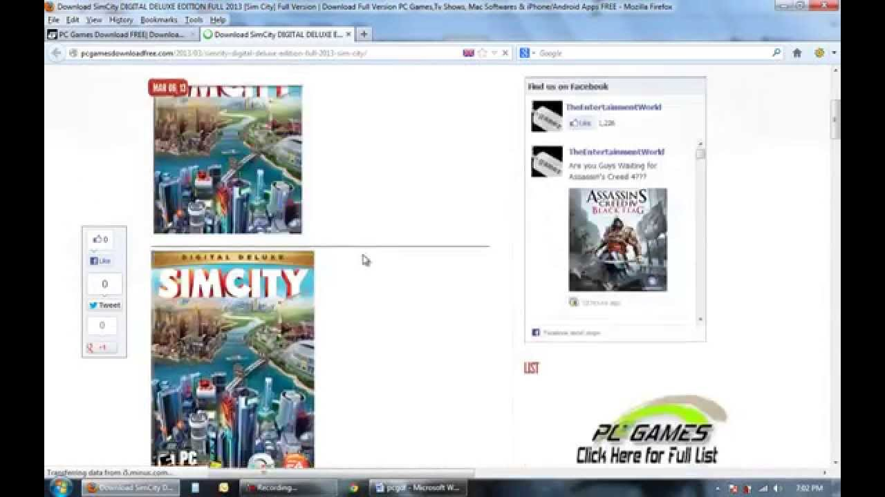 how to download simcity 5 crack