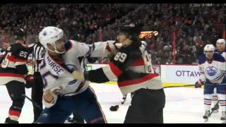 Darnell Nurse fights Max McCormick 02/04/16