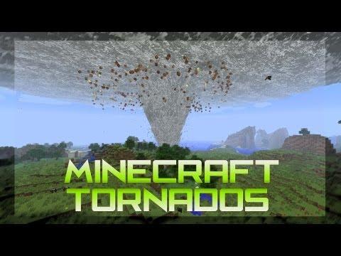 Minecraft - ¡TORNADOS! - Azharot