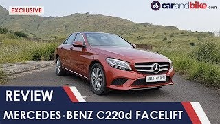 Exclusive: Mercedes-Benz C220d Facelift Review | NDTV carandbike