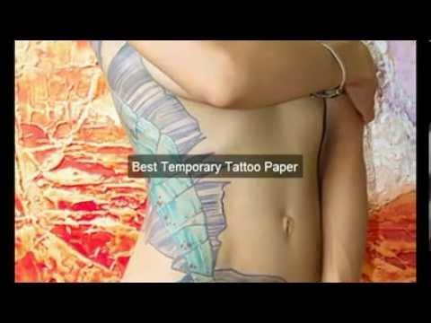 Temporary Tattoo Paper San Francisco