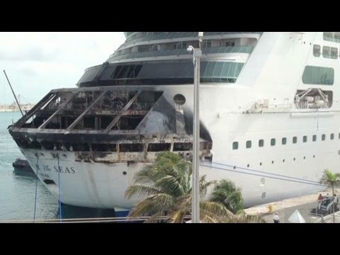 Fire breaks out on Royal Carribean cruise ship