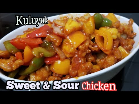 Resep Ayam Kuluyuk  Sweet and Sour Chicken.