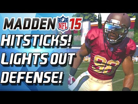 Madden 15 Ultimate Team - THAT HITSTICK! LIGHTS OUT DEFENSE! BUDGET SQAUD! - MUT 15