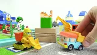 Harika Oyuncaklar - Robocar Poli Ve Kurtarma Ekibi - Şantiyede Yangın Var