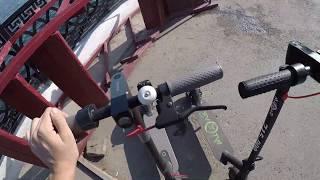 Мой личный опыт езды на  электро самокате xiaomi mijia m365 В условиях Саратова