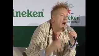 Johnny Lydon on boycotting Israel
