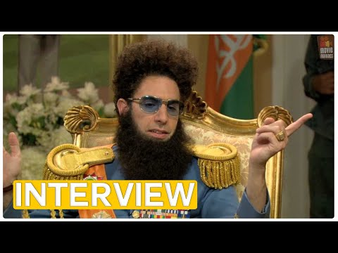 The Dictator | EXCLUSIVE Interview With Admiral General Aladeen (2012) Larry King