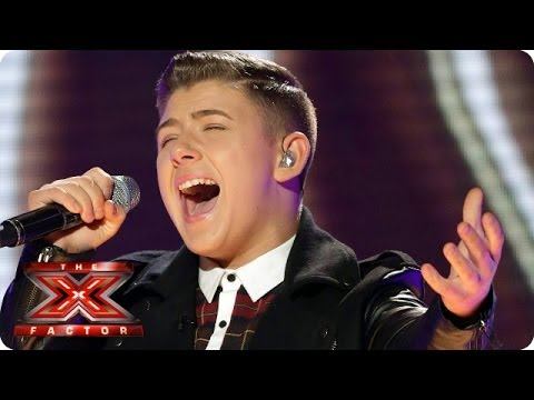 Nicholas McDonald sings Halo by Beyonce - Live Week 9 - The X Factor 2013