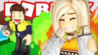 This game is hilarious! Roblox Fart Attack!