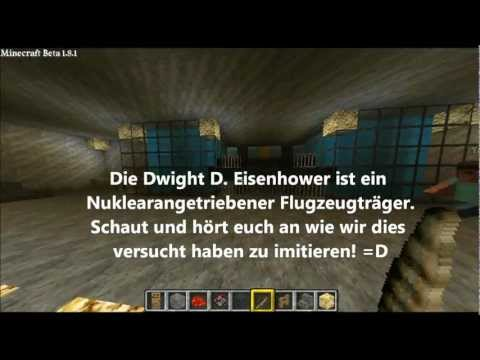 Minecraft Flugzeugträger 1:1 + Download (Dwight D. Eisenhower)