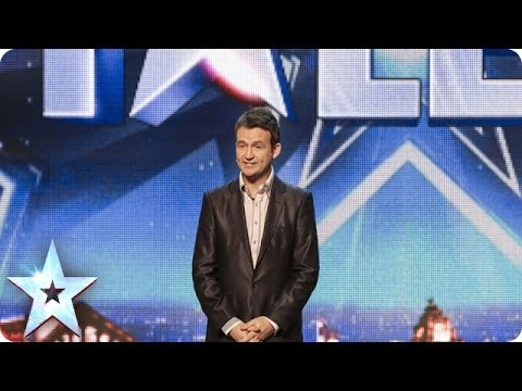 Will Simon Cowell be impressed by Jon Clegg's impression of him? | Britain's Got Talent 2014