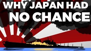 Why Japan had NO Chance in WW2